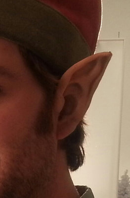 Elf ear application for MN lottery commercial